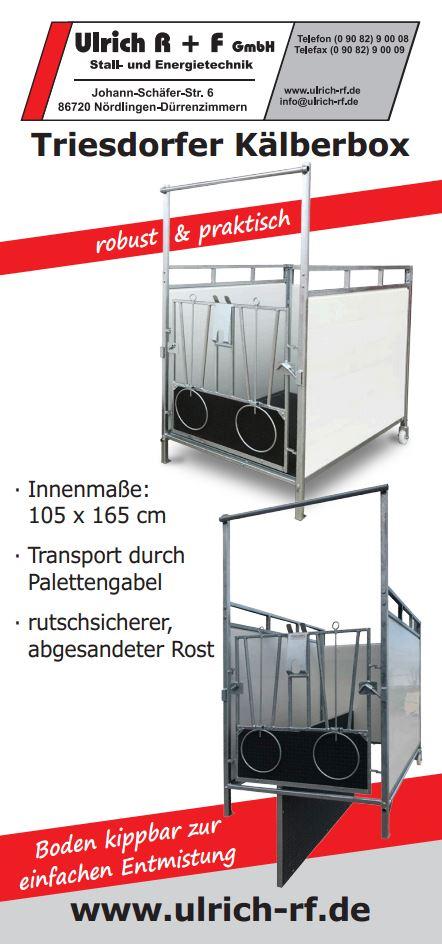 Triesdorfer Kälberbox
